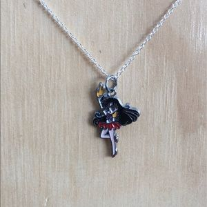 "✨Sailor Mars Charm Necklace 18"" Chain"